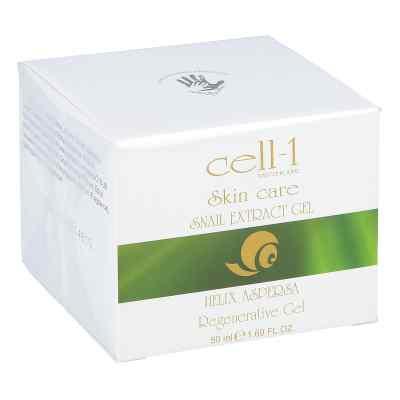 Cell-1 Gesichtspflege mit Schnecken-extrakt Gel  zamów na apo-discounter.pl