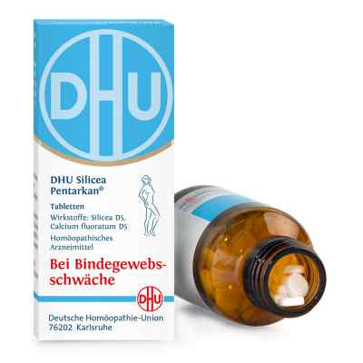 Dhu Silicea Pentarkan für das Bindegewebe Tabletten