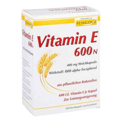 Vitamin E 600 N Weichkapseln  zamów na apo-discounter.pl