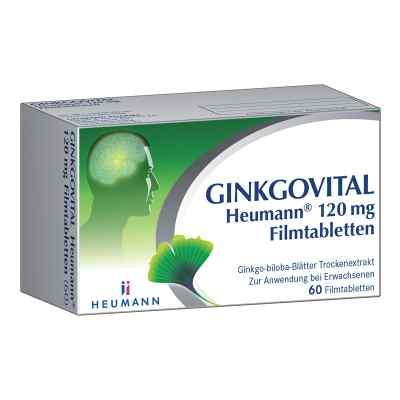 Ginkgovital Heumann 120 mg Filmtabletten  zamów na apo-discounter.pl