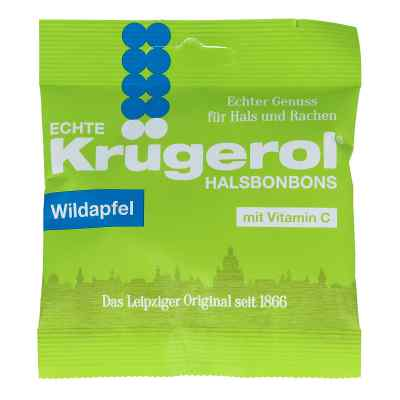 Krügerol Halsbonbons Wildapfel mit Zucker  zamów na apo-discounter.pl