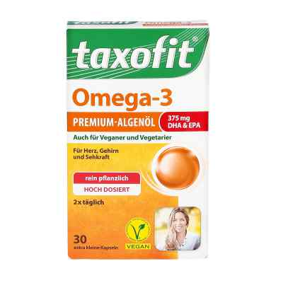 Taxofit Omega-3 Premium-algenöl Kapseln