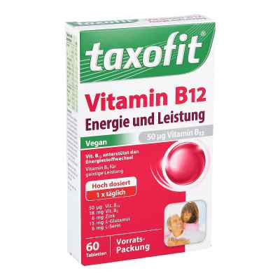 Witamina B12 Taxofit tabletki mini  zamów na apo-discounter.pl