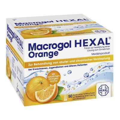 Macrogol Hexal Proszek na zaparcia o smaku pomarańczowym  zamów na apo-discounter.pl
