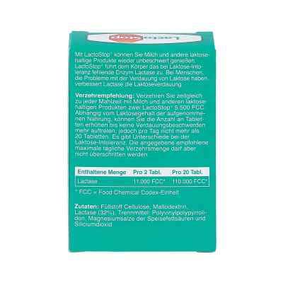 Lactostop 5.500 Fcc Tabletten Klickspender  zamów na apo-discounter.pl
