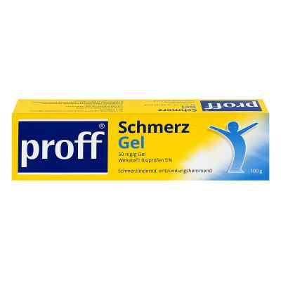 Proff Schmerzgel 50 mg/g  zamów na apo-discounter.pl