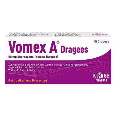 Vomex A Dragees 50 mg überzogene Tabletten  zamów na apo-discounter.pl