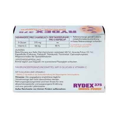 Rydex 375 Beta-glucan und Vitamin C Kapseln