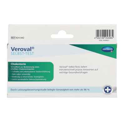 Veroval Cholesterin Selbsttest