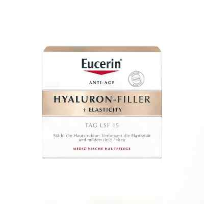 Eucerin Hyaluron-Filler + Elasticity krem na dzień  zamów na apo-discounter.pl
