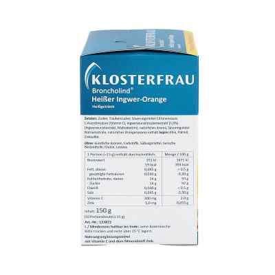 Klosterfrau Broncholind imbir+ cytryna, granulat  zamów na apo-discounter.pl