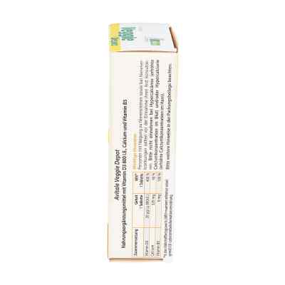 Veggie Depot Vitamin D3 800 I.e.+calcium+b5 Tabletten   zamów na apo-discounter.pl