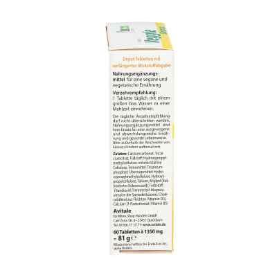 Veggie Depot Witamina D3 800 I.e.+Wapń+Wit.B5 tabletki  zamów na apo-discounter.pl