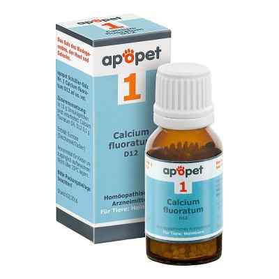 Apopet Schüssler-salz Nummer 1  Calcium fluor.D 12 veterinär   zamów na apo-discounter.pl