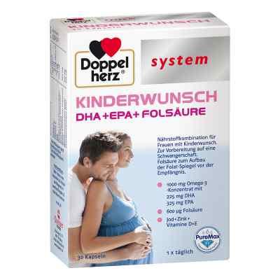 Doppelherz Kinderwunsch system Kapseln  zamów na apo-discounter.pl