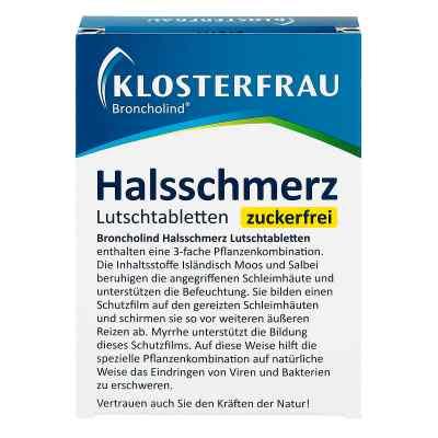 Klosterfrau Broncholind Halsschmerz Lutschtabletten zf.  zamów na apo-discounter.pl