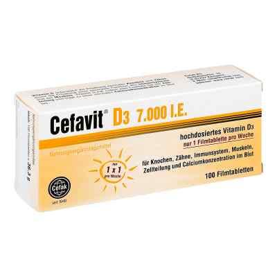 Cefavit D3 7.000 I.u. tabletki powlekane  zamów na apo-discounter.pl
