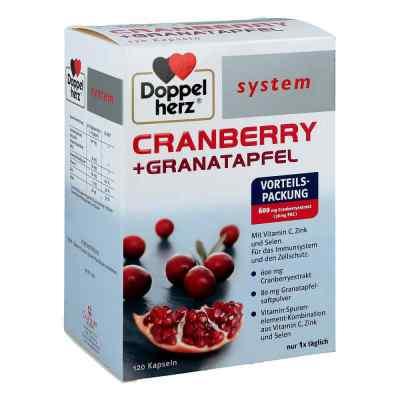 Doppelherz Cranberry+granatapfel system Kapseln  zamów na apo-discounter.pl