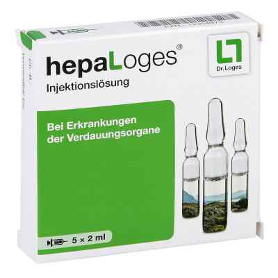 Hepa Loges Injektionslösung Ampullen  zamów na apo-discounter.pl