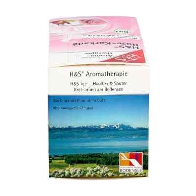 H&s Bio Rose-karkade Aromatherapie Filterbeutel