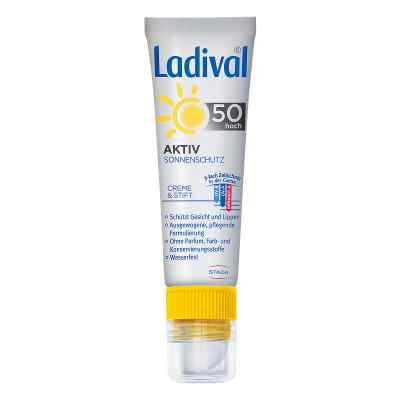 Ladival Aktiv Sonnenschutz für Gesicht und Lipp.LSF 50  zamów na apo-discounter.pl