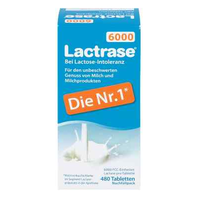 Lactrase 6.000 Fcc Tbl.klickspender Nachfüllpack  zamów na apo-discounter.pl