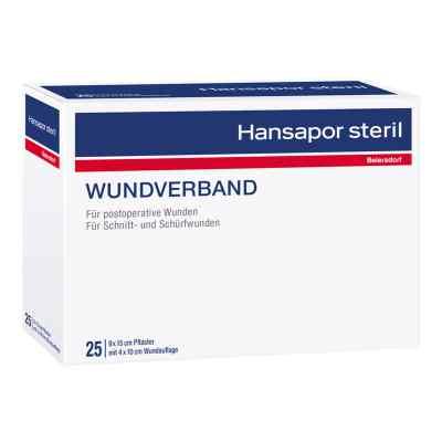 Hansapor steril Wundverband 9x15 cm  zamów na apo-discounter.pl