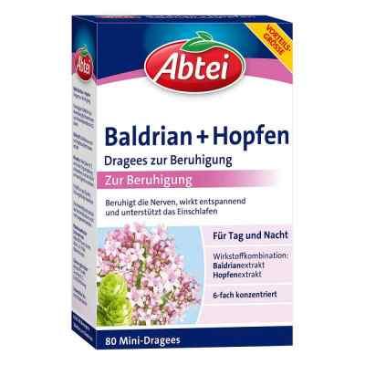 Abtei Baldrian+hopfen Dragees zur Beruhigung  zamów na apo-discounter.pl
