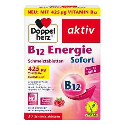 Doppelherz B12 Energie Sofort Schmelztabletten 30 szt. od Queisser Pharma GmbH & Co. KG PZN 12454309