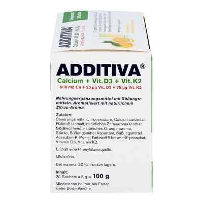 Additiva Calcium+d3+k2 Granulat