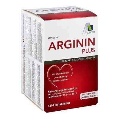 Arginin plus Vitamin B1+b6+b12+folsäure Filmtabletten   zamów na apo-discounter.pl
