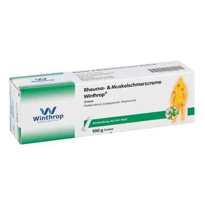 Rheuma- & Muskelschmerzcreme Winthrop  zamów na apo-discounter.pl