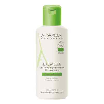 A-derma Exomega geschm.Reinigungsgel 2in1