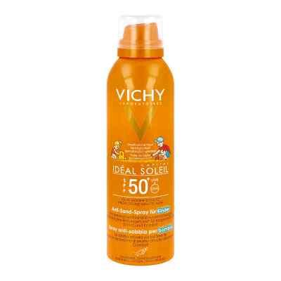 Vichy Ideal Soleil Sprej antypiaskowy dla dzieci z filtrem SPF50  zamów na apo-discounter.pl