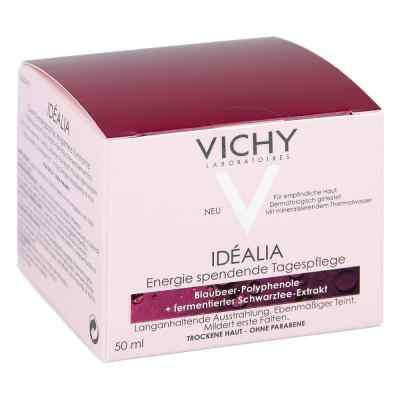 Vichy Idealia energetyzujący krem wygładzający skóra sucha
