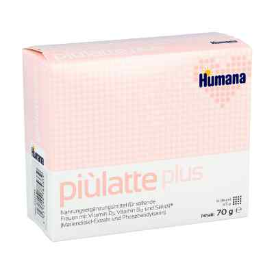 Piulatte plus Humana saszetki dla kobiet karmiących piersią