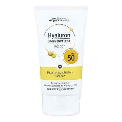 Medipharma Hyaluron lotion przeciwsłoneczny do ciała SPF50+  zamów na apo-discounter.pl