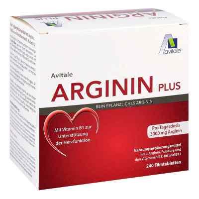 Arginin plus Vitamin B1+b6+b12+folsäure Filmtabletten