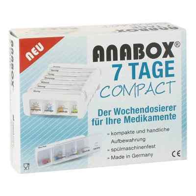 Anabox 7 Tage Compact Wochendosierer weiss  zamów na apo-discounter.pl