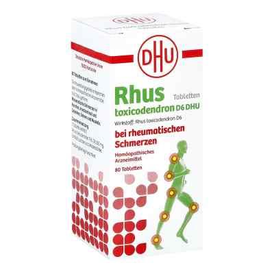 Rhus Tox. D6 Dhu bei rheumatischen Schmerzen Tabletten   zamów na apo-discounter.pl