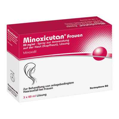 Minoxicutan Frauen 20 mg/ml Spray  zamów na apo-discounter.pl