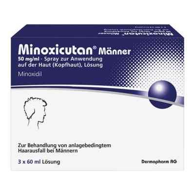 Minoxicutan Männer 50 mg/ml Spray  zamów na apo-discounter.pl