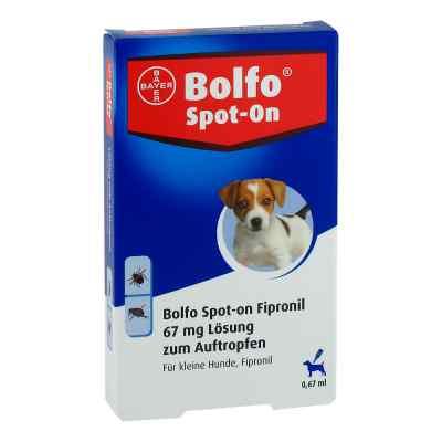 Bolfo Spot-on Fipronil 67 mg Lösung für kleine Hunde  zamów na apo-discounter.pl