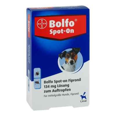 Bolfo Spot-on Fipronil 134 mg Lösung für mittelgr.hunde  zamów na apo-discounter.pl