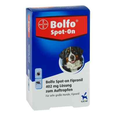 Bolfo Spot-on Fipronil 402 mg Lösung für sehr gro.Hunde