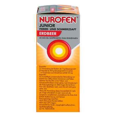 Nurofen Junior syrop przeciwgorączkowy o smaku truskawkowym 40 m  zamów na apo-discounter.pl