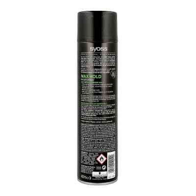 Syoss Haarspray Max Hold Haltegrad 5 mega stark  zamów na apo-discounter.pl