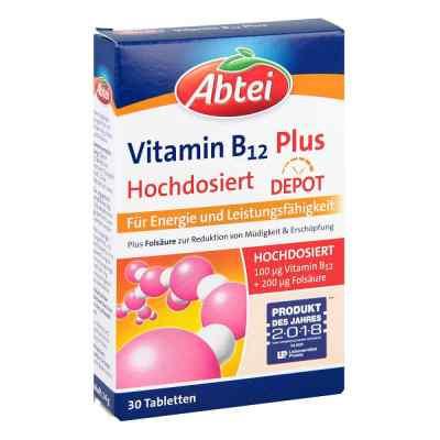 Abtei Vitamin B12+kwas foliowy tabletki  zamów na apo-discounter.pl