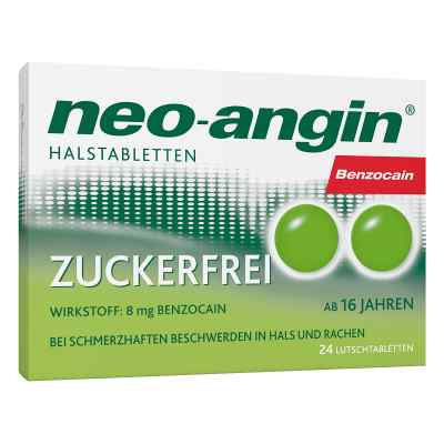 Neo Angin Benzocain Halstabletten zuckerfrei  zamów na apo-discounter.pl