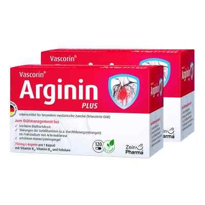 Vascorin Arginin Plus Kapseln  zamów na apo-discounter.pl